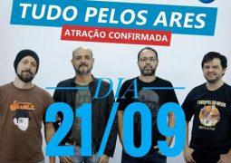 Banda de Manaus, Tudo Pelos Ares, com seu estilo Hard Rock, é atração no Rock in Rio